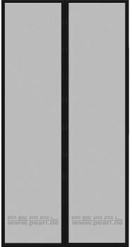 Selbstschließendes Fliegennetz für Türen mit 82-86 cm Innendurchmesser